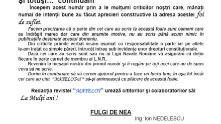 Revista Matelot nr. 2