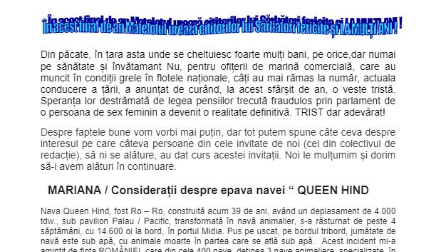 Revista Matelot nr. 23