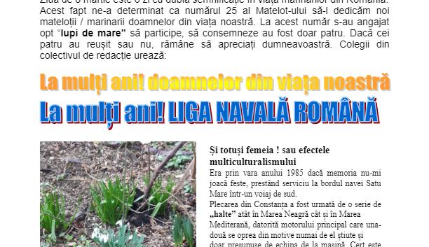 Revista Matelot nr. 25